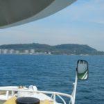 下関市の北西部の響灘に六連島が浮かぶようにあります