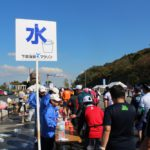 下関海響マラソン給水ボランティア